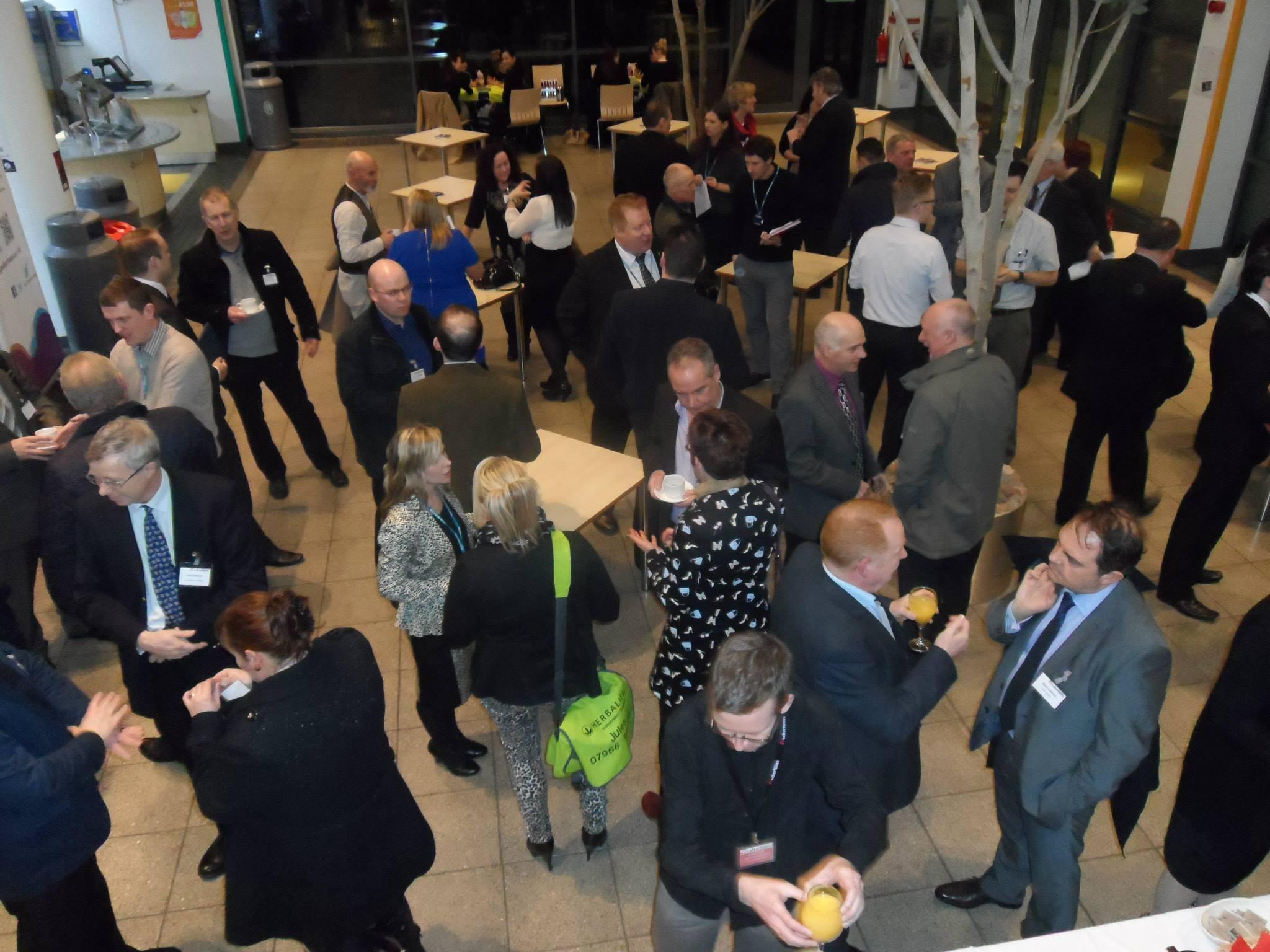 Durham Business Club event at New College Durham