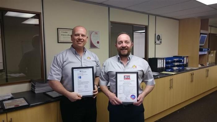 Alan & Brian - ISO Photo
