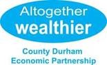 County Durhem Economic PArtnership Logo