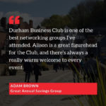 Kind words from Adam Brown of Great Annual Savings Group