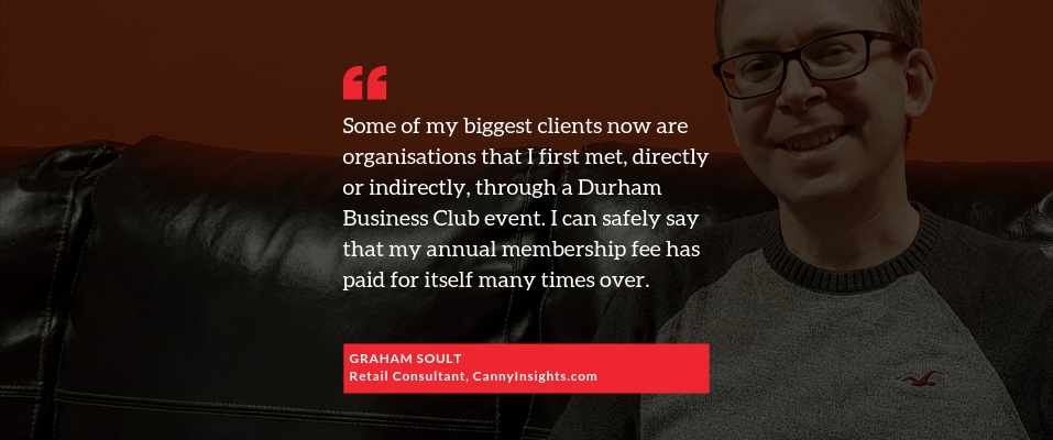 Testimonial from DBC member Graham Soult of CannyInsights.com