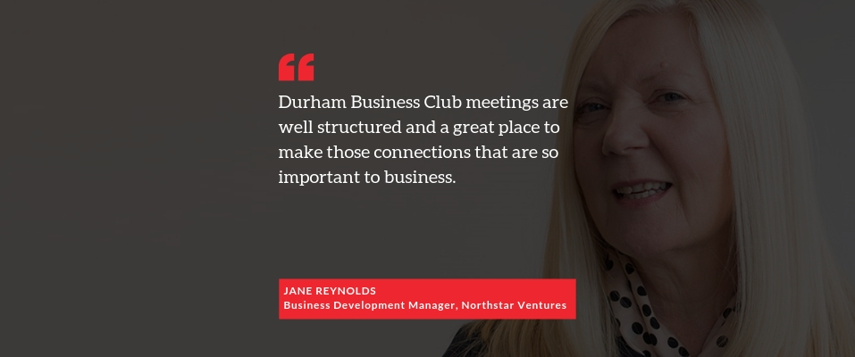 Positive words from Jane Reynolds of Northstar Ventures