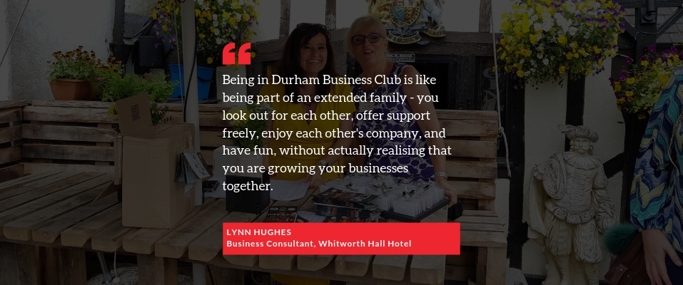 Testimonial from DBC member Lynn Hughes of Whitworth Hall