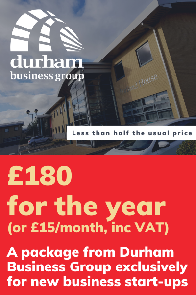 Durham Business Group start-up package