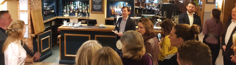 Durham Business Club networking breakfast at the Kingslodge Inn in Durham, January 2019