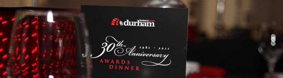 Celebrating the 30th anniversary of Durham Business Group in 2011