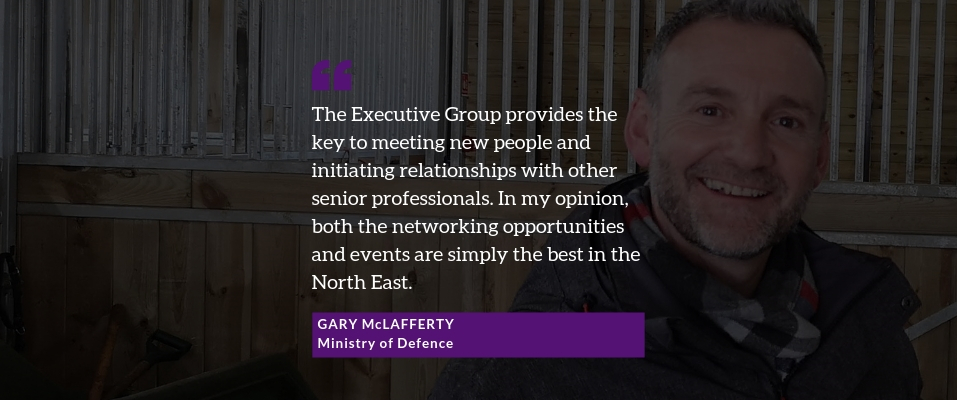 Quote by Gary McLafferty, Defence Director of Engagement, North of England Reserve Forces' and Cadets' Association – Ministry of Defence