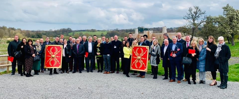 Executive Group members at Kynren earlier in 2019