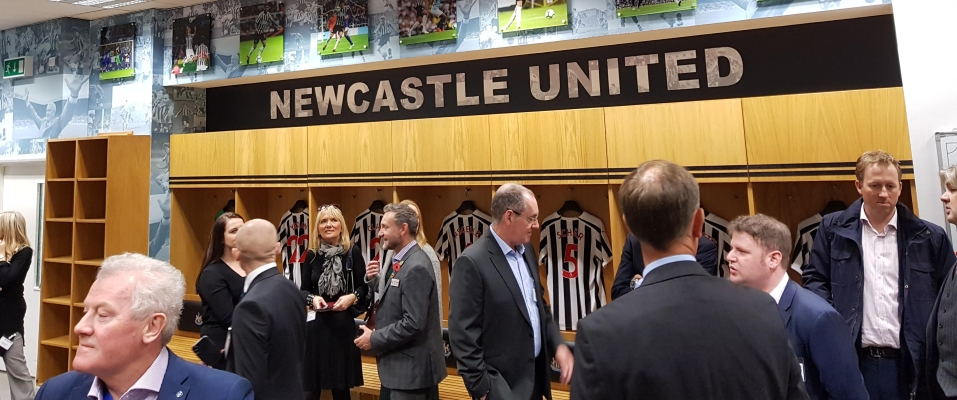 Previous Executive Group event at St James' Park, home of Newcastle United FC